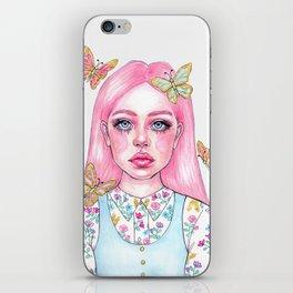 Little butterfly doll iPhone Skin
