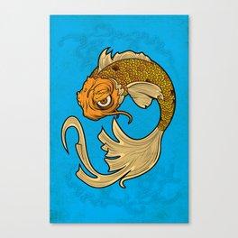 The Disgruntled Koi Canvas Print
