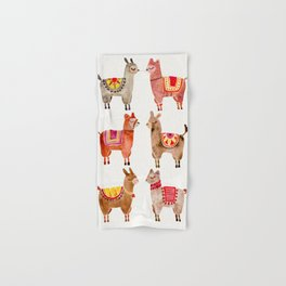 Alpacas Hand & Bath Towel