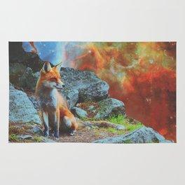 Space Fox Rug