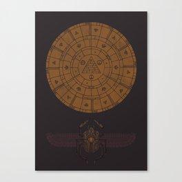 Sacred Sun Canvas Print