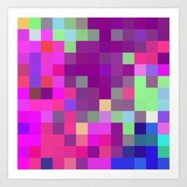Pixel Art Print
