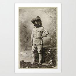 Teddy Bear Roosevelt Art Print