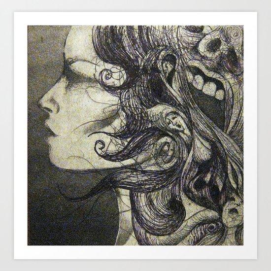 S H E  Art Print