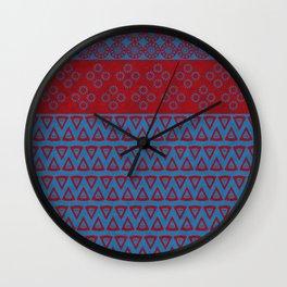 Japanese Style Bohemian Pattern Wall Clock