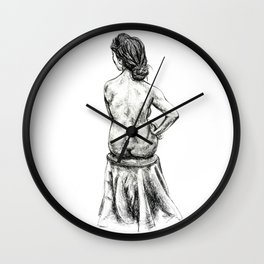 Strength in Thoughts Wall Clock