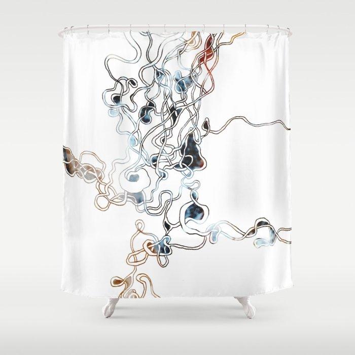 Design #2 Shower Curtain