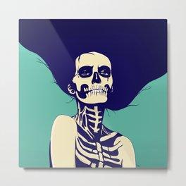 Día de las Muertas Metal Print