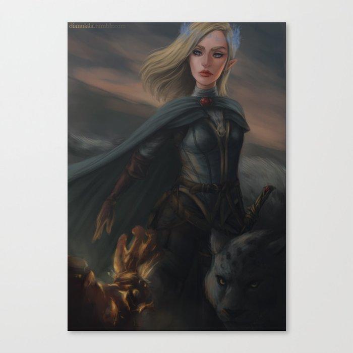 Aelin Fireheart Canvas Print