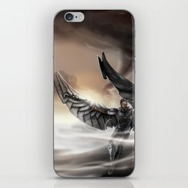 An Angel in the Desert iPhone Skin