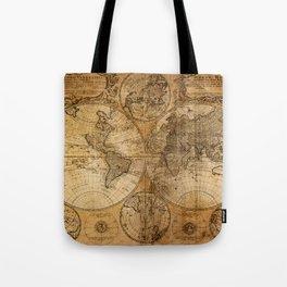 World Map 1746 Tote Bag