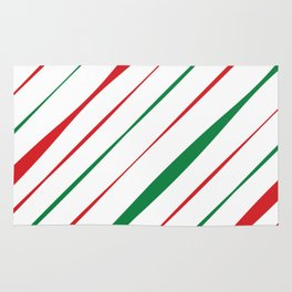 Christmas Stripes Rug