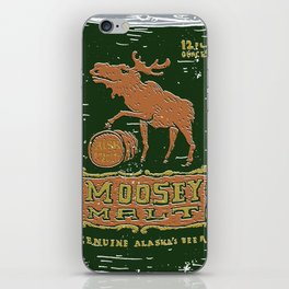 Moosey Malt iPhone Skin
