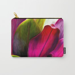 Ti Leaf Bouquet Carry-All Pouch