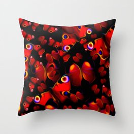 Breathless, Fluttering Throw Pillow