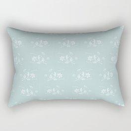 Floral Pattern #1 #decor #art #society6 Rectangular Pillow