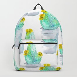 Watercolour Cactus no 2 Backpack