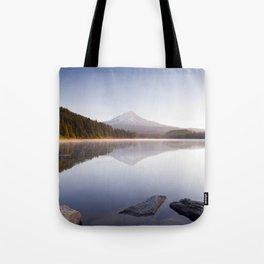 A Trillium Morning Tote Bag