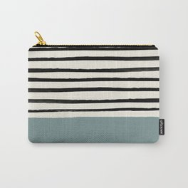 River Stone & Stripes Carry-All Pouch