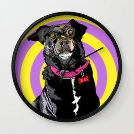 Hypno Doggie Wall Clock