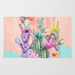 Cacti Love Rug