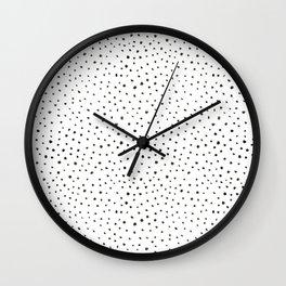 dalmatian print Wall Clock