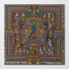 The Medicine Buddha Canvas Print