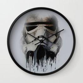 Trooper Face Wall Clock