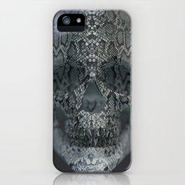 Snake Skull iPhone Case