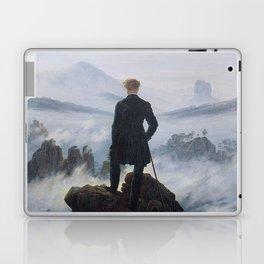 Caspar David Friedrich - Wanderer above the sea of fog Laptop & iPad Skin
