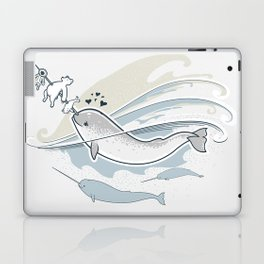 The Friendly Narwhal Laptop & iPad Skin