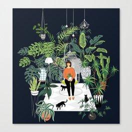 dark room print Canvas Print