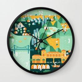 Floripa Brazil Wall Clock