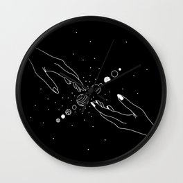 Planets Align 2.0 Wall Clock