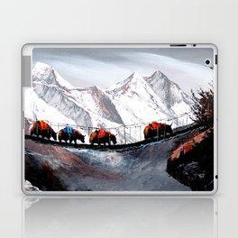 Herd Of Mountain Yaks Himalaya Laptop & iPad Skin