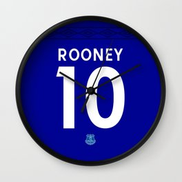 Rooney Edition - Everton Home 2017/18 Wall Clock