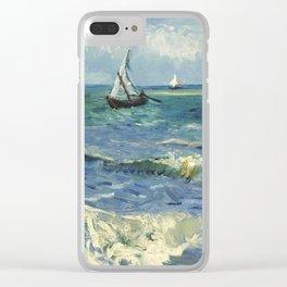 Van Gogh Seascape Clear iPhone Case