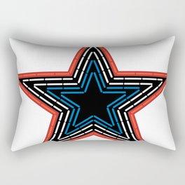 Roanoke Pride Mill Mountain Star Rectangular Pillow
