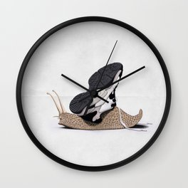 The Sneaker (Wordless) Wall Clock