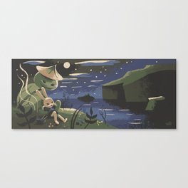 Takumi And Susumu Canvas Print