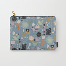Lunar Pattern: Blue Moon Carry-All Pouch