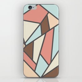 Geometric Colour Pattern V2 iPhone Skin