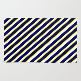TEAM COLORS 1…Navy , yellow , white Rug