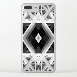 Architectural Fantasies 2 Clear iPhone Case