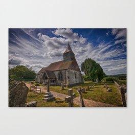St Bartholomew Chalvington Canvas Print