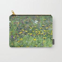 Summer Field Killington Vermont Carry-All Pouch