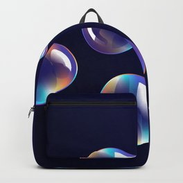 Holographic Bubbles Backpack