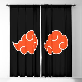 Akatsuki Clan Blackout Curtain
