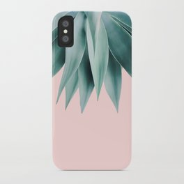 Agave fringe - blush iPhone Case