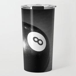 Eight Ball-Black Travel Mug